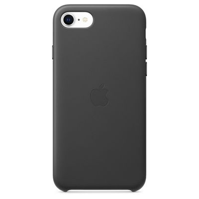 APPLE iPhone SE Leather Case - Black  Default image