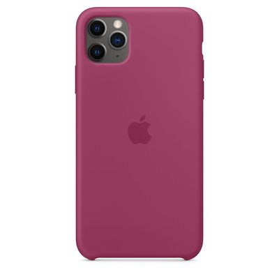 APPLE iPhone 11 Pro Max Silicone Case - Pomegranate  Default image