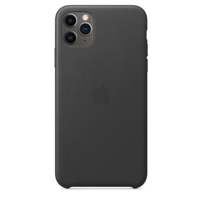 APPLE iPhone 11 Pro Max Leather Case - Black  Default image