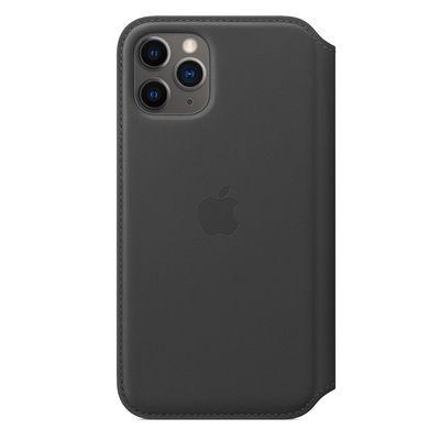 APPLE iPhone 11 Pro Leather Folio - Black  Default image