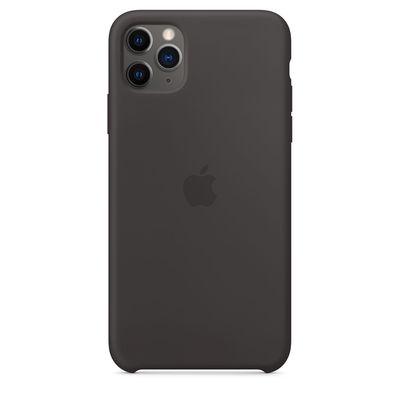 APPLE iPhone 11 Pro Max Silicone Case - Black  Default image