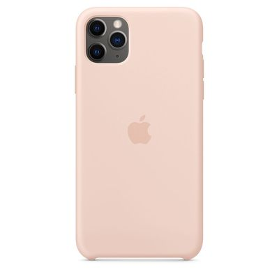 APPLE iPhone 11 Pro Max Silicone Case - Pink Sand  Default image
