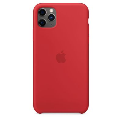 APPLE iPhone 11 Pro Max Silicone Case - (PRODUCT)RED  Default image