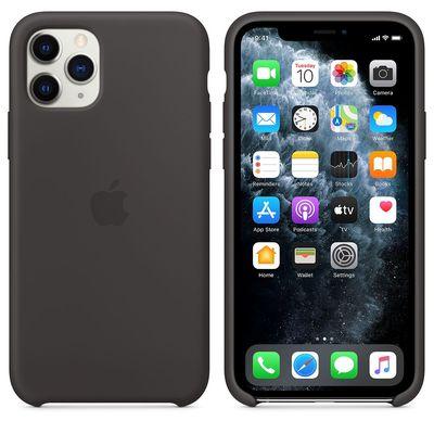 APPLE iPhone 11 Pro Silicone Case - Black  Default image