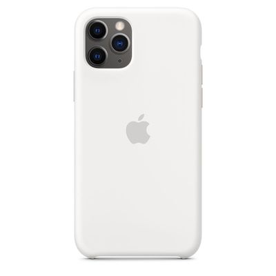 APPLE iPhone 11 Pro Silicone Case - White  Default image