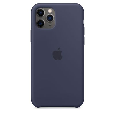 APPLE iPhone 11 Pro Silicone Case - Midnight Blue  Default image