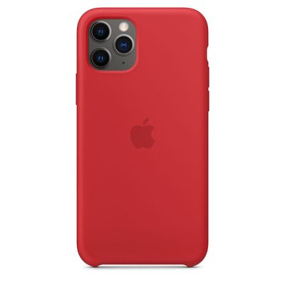 APPLE iPhone 11 Pro Silicone Case - (PRODUCT)RED  Default image