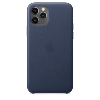 APPLE iPhone 11 Pro Leather Case - Midnight Blue  Default image