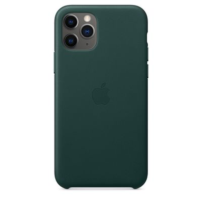 APPLE iPhone 11 Pro Leather Case - Forest Green  Default image