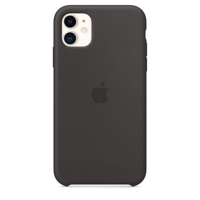 APPLE iPhone 11 Silicone Case - Black  Default image