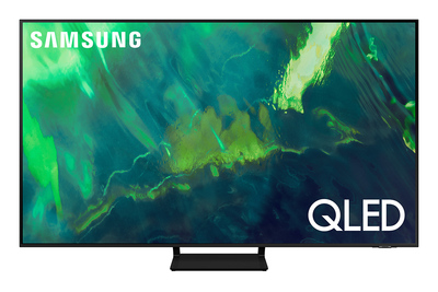 "SAMSUNG TV QLED 4K 55"" QE55Q70A SMART TV WI-FI 2021  Default image"