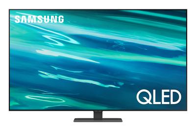 "SAMSUNG TV QLED 4K 55"" QE55Q80A SMART TV WI-FI 2021  Default image"