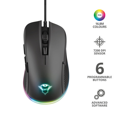 TRUST GXT 922 YBAR GAMING MOUSE  Default image