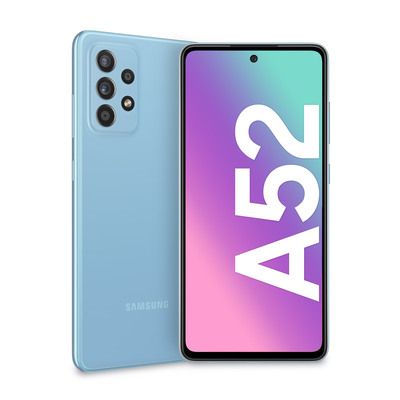 SAMSUNG Galaxy A52 Awesome Blue  Default image