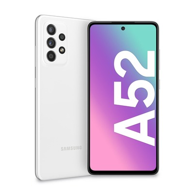SAMSUNG Galaxy A52 Awesome White  Default image