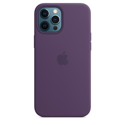 APPLE iPhone 12 Pro Max Silicone Case with MagSafe  Default image