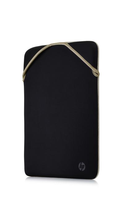 "HP CUSTODIA REVERSIBLE PROTECTIVE 14"", BLACK/GOLD  Default image"