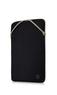 "HP CUSTODIA REVERSIBLE PROTECTIVE 14"", BLACK/GOLD  Default thumbnail"