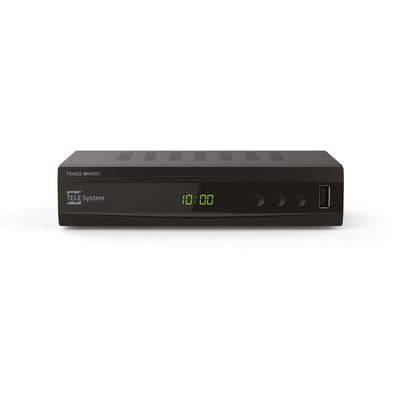 TELESYSTEM TS6822 TWIN DVB-T2 HEVC 10 BIT  Default image