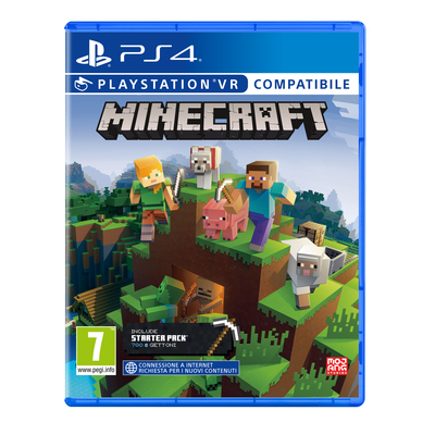 SONY ENTERTAINMENT MINECRAFT STARTER COLLECTION PS4  Default image