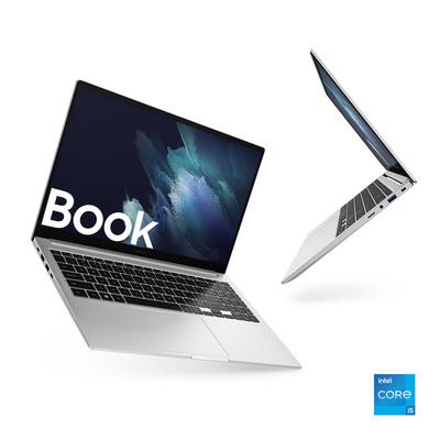 "SAMSUNG GALAXY BOOK 15.6"", I5, WINDOWS 11 READY, SILVER  Default image"