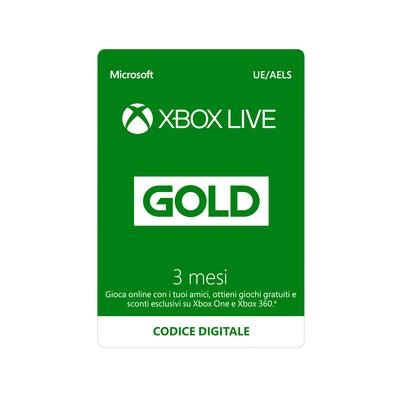 MICROSOFT Microsoft Xbox Live Gold 3 mesi  Default image