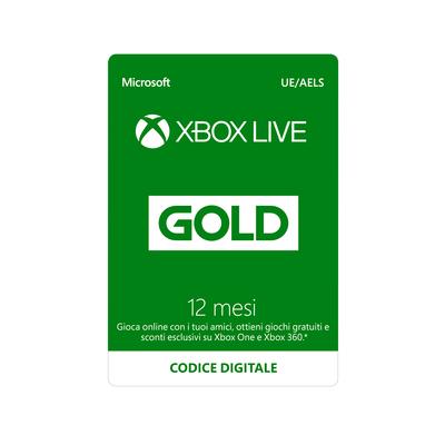 MICROSOFT Microsoft Xbox Live Gold 12 mesi  Default image