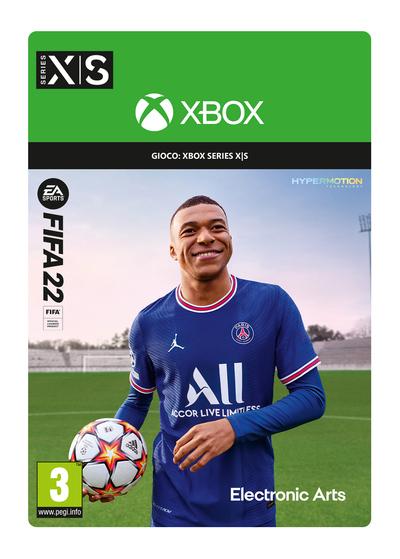 MICROSOFT C2C FIFA 22 STANDARD EDITION XBOX SERIES X/S  Default image